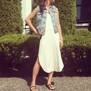 Aritzia Dresses - Aritzia Wilfred Colonne Racerback Midi Dress